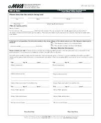 Download Bill Of Sale Template A Motorcycle Or Auto Free For