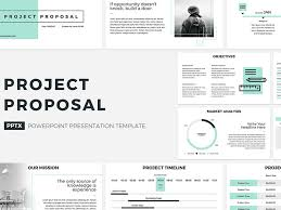 Presentation Template Powerpoint Project Proposal Powerpoint Template By Templates On Dribbble