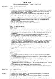 On Air Personality Resume Sample Video Journalist Resume Samples Velvet Jobs 55