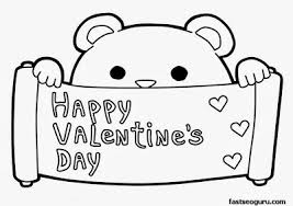 Small Picture Free Valentines Coloring Pages