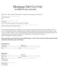 Gift Letter Sample Template Amazing Gift Letter Template Car Unhammerco
