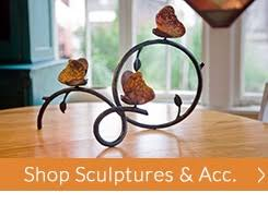 buy wrought iron home decor accents online