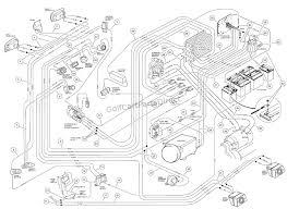 Club car electric golf cart wiring diagram and 94ez volt 36 battery 48 1224