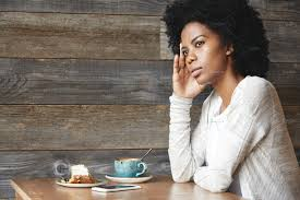 Image result for a black woman alone and thinking