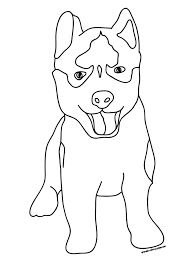 Small Picture 7 Lovely Husky Coloring Pages ngbasiccom