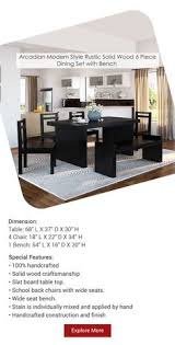 dining table and chair sets sierralivingconcepts diningroom furniture homedecor decor handcrafted
