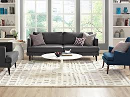 tips for choosing the perfect area rug size for your home
