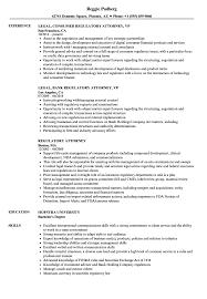Regulatory Attorney Resume Samples Velvet Jobs
