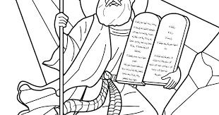 Ten Commandments Coloring Pages For Preschoolers Jabn 10