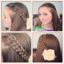 Simple Hairstyles For College Simple Hairstyles For Long Hair College Step By Fusion Hair