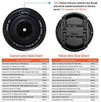 Nikon D3400 Lens Compatibility Chart Gaoag 2 Pack 55mm Center Pinch Lens Cap For Nikon Canon Sony Dslr Camera Compatible With Nikon D3400 D3500 D5500 D5600 D7500 Song Fe 35mm F1 8 Fe