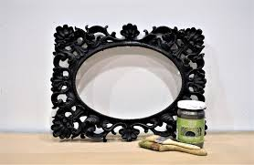 painting a metallic frame for diy wedding decor modern masters metallic paint collection and matte