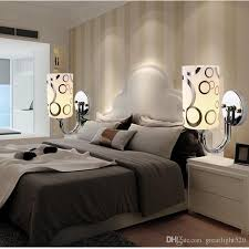 bedroom wall sconce lighting. 2018 Clear Glass Wall Light Modern Simple Style Crystal Led Bedside Lamp Bedroom Sconce Fitting #14 From Greatlight520, $32.15   Dhgate.Com Lighting