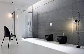 bathroom minimalist design. Bathroom: Equisite Open Desaign Ideas Minimalist Bathroom With Cute Black Vanity On Sleeky Chalk Floor Design
