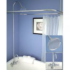 tub to shower faucet conversion kit. clawfoot tub shower curtain rod you can make yourself to faucet conversion kit q