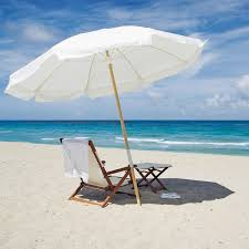 beach umbrella and chair. Wonderful And Relaxing On The Beach With Beach Umbrella And Chair N