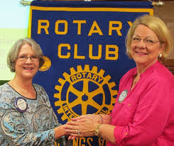 HSV Rotary honors Galloway with first Ross Johnson Award