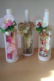 Ideas To Decorate Wine Bottles Decorate Bottles Wine Bottles Decoration Ideas For Decorate Home 94