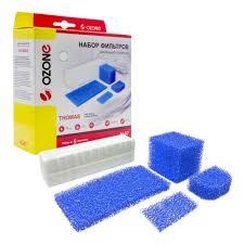 <b>Набор фильтров</b> для пылесоса OZONE арт. H-07 HEPA для ...