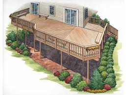 2 story house plans with upper deck