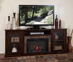 sd 3488dc 80r 80 santa fe rustic birch electric fireplace tv standelectric