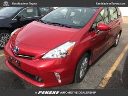 2014 Used Toyota Prius v 5dr Wagon Three at East Madison Toyota ...
