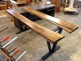 industrial modern furniture. Industrial Modern Live Edge Executive Office Desk Furniture S