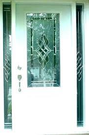 half glass front door glass front door stain glass door inserts beveled glass front door stained
