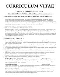 Writing A Curriculum Vitae Best Gallery Of Curriculum Vitae Curriculum Vitae Sample Undergraduate