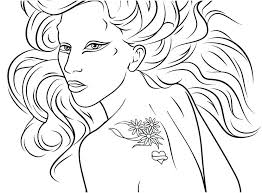 lady gaga coloring pages. Brilliant Gaga Lady Gaga Coloring Pages The Best Friend Intended G