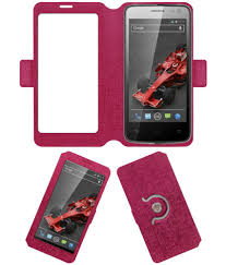 Xolo Q700i Flip Cover by ACM - Pink ...