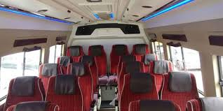 hire 18 seater luxury tempo traveller