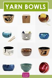 yarn bowls for knitters