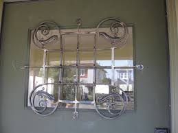 Decorative Security Grilles For Windows Decorative Window Bars Decorating Ideas
