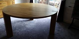 solid oak round dining table 1 5m excellent condition in blackburn lancashire gumtree