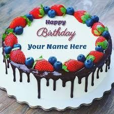 Funny Birthday Cake With Name Edit For Girls Birthdaycakeformancf