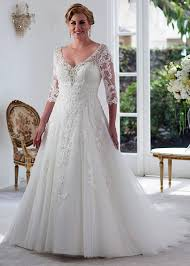 Beautiful plus size winter wedding dress ideas Lace Plus Size Wedding Dresses By Venus Bridal Wedding Ideas Plus Size Wedding Dresses Bridal Gowns Accessories For Fuller