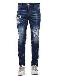 Dsquared2 Jeans Size Chart Amazon Com Dsquared2 Blue Men Skinny Cool Jean S74lb0420