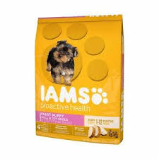 Details About Iams Proactive Health Smart Puppy Toy Small Breed Chicken Dog Food Dry 6