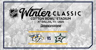 2020 Bridgestone Nhl Winter Classic Nashville Predators