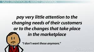 customer orientation examples sales orientation definition examples video lesson transcript