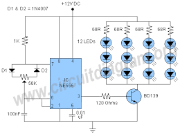 555 pwm led dimmer circuit diagram electronics 555 pwm led dimmer circuit diagram