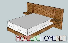 Build Headboard More Like Home Day 5 Build A Simple Modern Headboard Bedroom