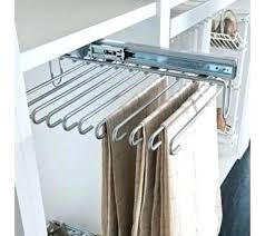 Pull Out Coat Rack Mesmerizing Pull Out Tie Rack Tie Rack Cheap Clothes Rack Laundry Room Pull Out