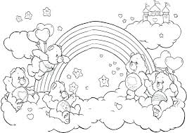 free rainbow fish coloring pages printable for s story the page fre