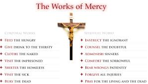 works of mercy worksheet works of mercy sister hood