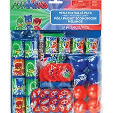 Pj Mask Party Decorations PJ Masks Mega Value Favors PackKids Birthday Party Supplies 23
