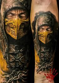 Scorpion Mortal Kombat How Could I татуировки религиозные