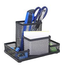 neat office supplies. Demarkt Multifunction Pen Holder Mesh Square Storage Container Box Fashion Neat Office Supplies I