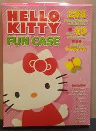 Crayola coloring pages snowman coloring pages thanksgiving coloring pages spring coloring pages. Hello Kitty Fun Case 288 Coloring Pages 40 Fun Stickers Crayons New Ebay